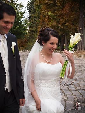 Mariage en automne, Nadia & Tarik, Longjumeau, France © niesim