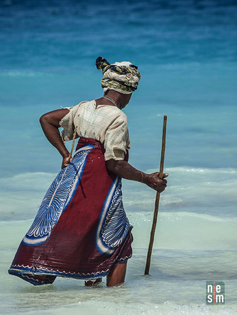 Pêche pour une dame de Zanzibar © niesim