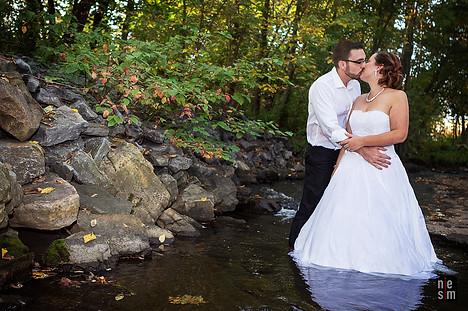 Romance à la rivière © niesim