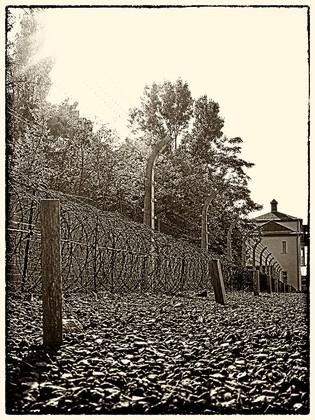 Camp de concentration de sachsenhausen Berlin, Allemagne © niesim