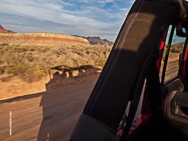 Jeep en Arizona-niesim
