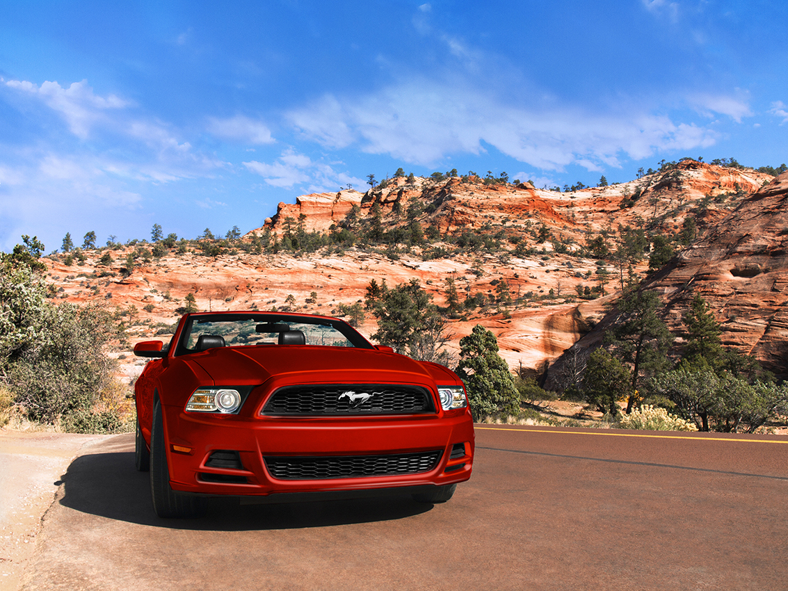 Mustang, Zion Park, Utah. ©