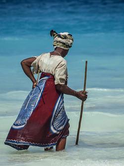 Pêche pour une dame de Zanzibar ©