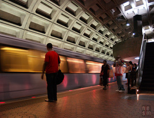 Metro de Washington, Étas-Unis © niesim