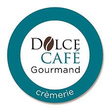 Création et conception du logo Dolce Café gourmand