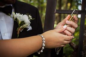 Le cadenas d'amour... Jonathan & Virginiemariage © niesim