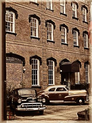 Police Barracks, Savannah, Georgia, US © niesim