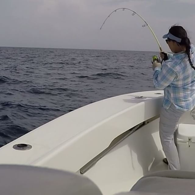 Vertical jiggin' it (Part 1) #hookup__For more ➡#SnapShotFishingCharterswithSid__mustadhooks _columb