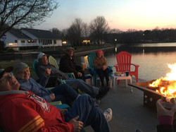 Firepit by the Lake