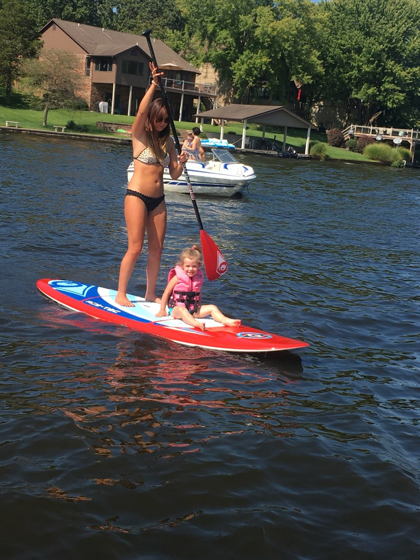More Paddleboarding