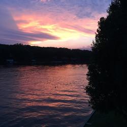 Sky over the Lake