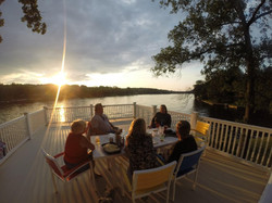 Evening on the Martini Deck