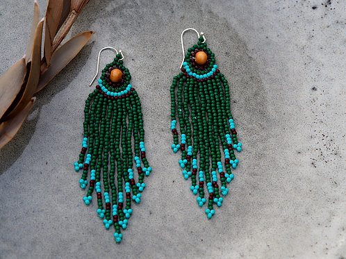 Ocean Willow Earrings