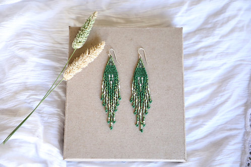 Emerald Nova Earrings (Large)