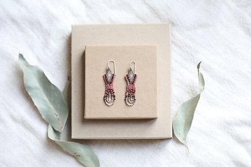 Rose Arrow Earrings