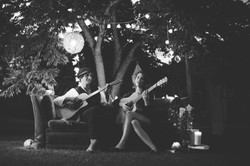 Photo Shoot w 'and the trees'