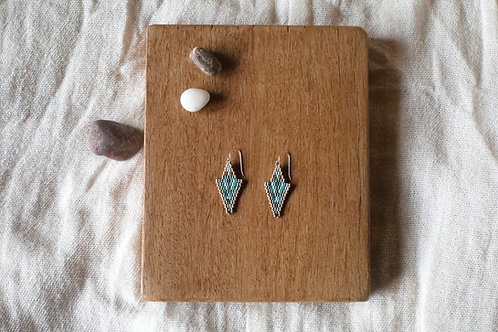 Blue Zeeya Earrings