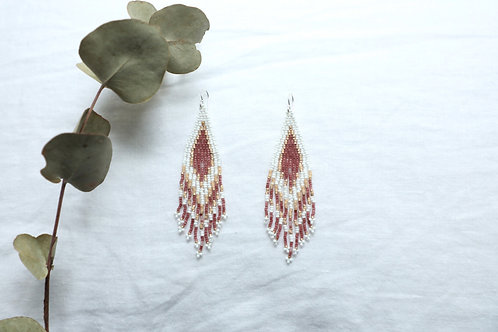 Pink Mawu Earrings