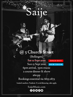 Saije - 5 Church St (Bellingen) Poster (2020)