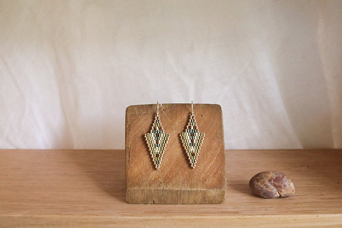 Green Zeeya Earrings