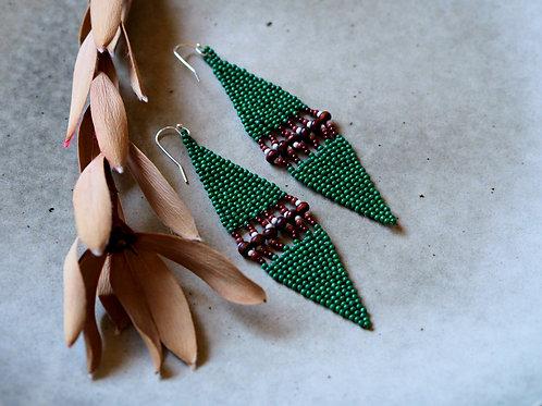 Emerald Ally Earrings