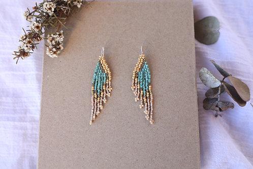 Ocean Wing Earrings