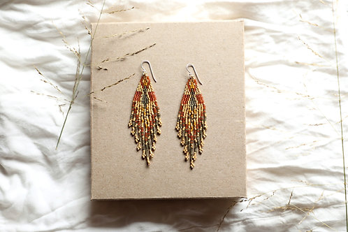Autumn Nova Earrings ( Extra Large)