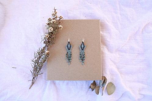 Blu Arrow Earrings
