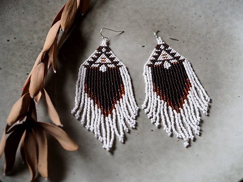 White Cedar Earrings