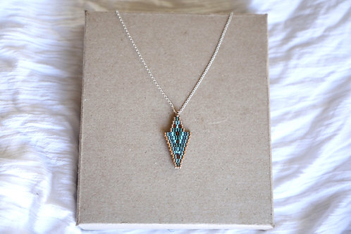 Blue Zeeya Necklace