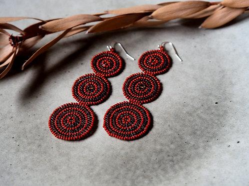 Desert Mandala Earrings