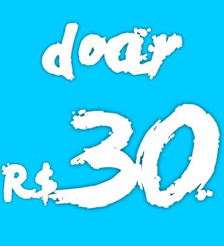 Quotas 30 reais