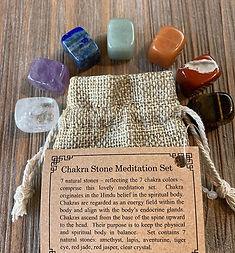 Find balance. 🧘🏽 This Mini Chakra Ston