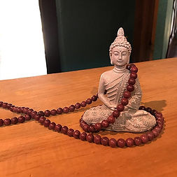 What did The Buddha do when he was troub