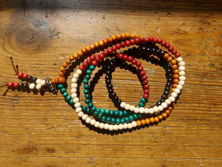Multi Color Prayer Bracelet