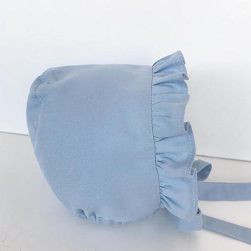 Touca folho para a frente azul