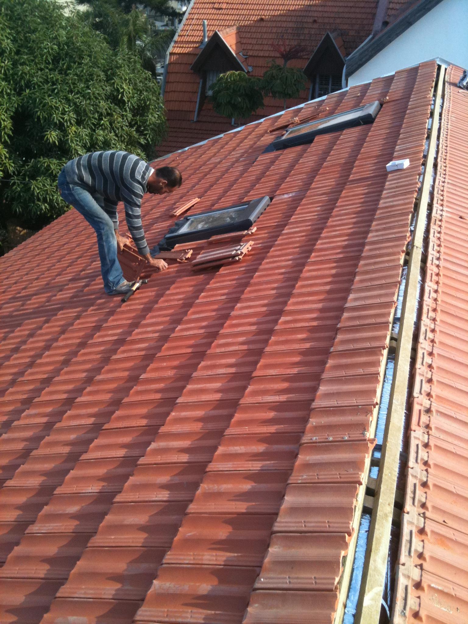 שלב הקירוי כולל חלונות בגג