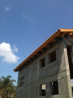 גג יציאות ללא ארגז רוח