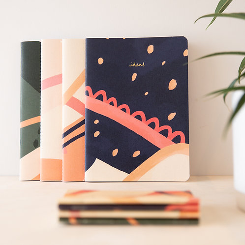 A5 Recycled Notebook - Ideas