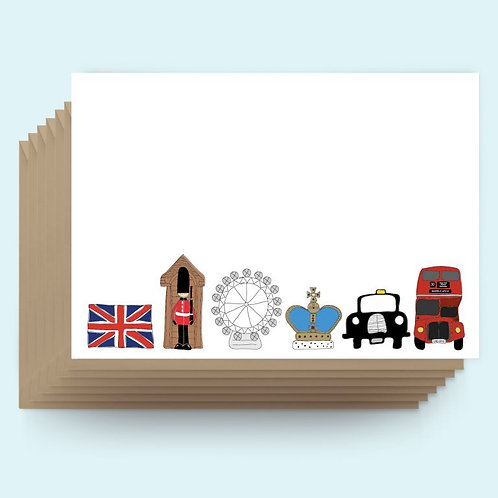 London Postcard Pack (6 cards)