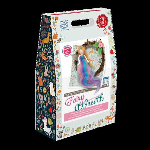 Felting Kit Wreath - Summer Fairy