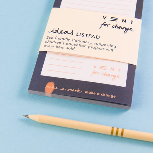 Recycled List Pad - Ideas