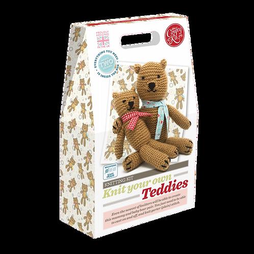 Knit Kit - Teddies