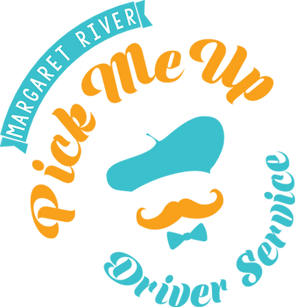 Logo Margaret River Pick Me Up private wine tours and driver service