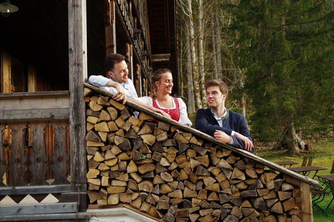 Max, Dani & Fanni im Service