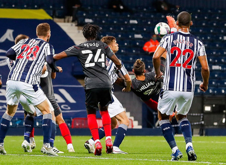 We beat the Baggies 5-4 on pens at The Hawthorns in the 3rd Round of the Carabao Cup