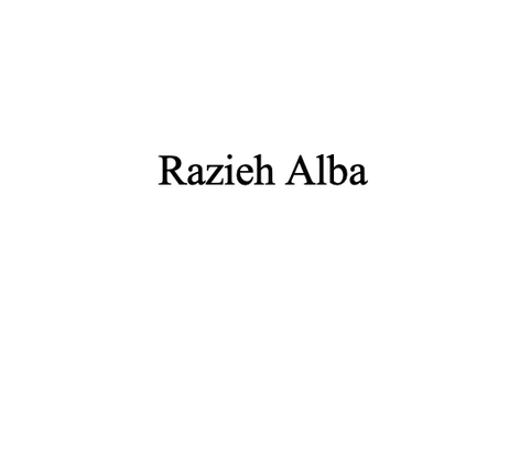 Razieh Alba