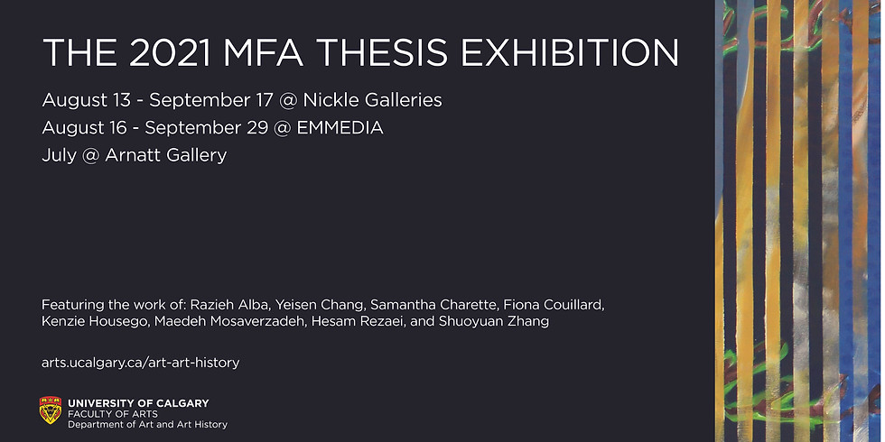 The MFA Thesis Exhibitions | Nickel Galleries