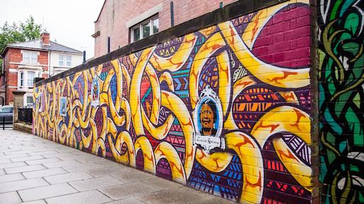 Pathways mural
