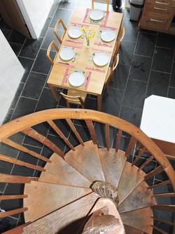 Mezzanine staircase